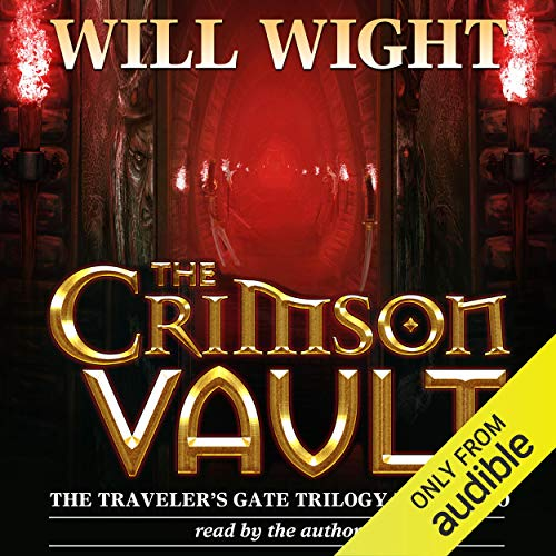 The Crimson Vault audiobook cover art