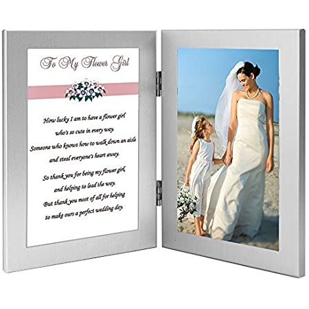 Flower Girl Gift for Flower Girl Personalized Gift for Flower Girl Picture Frame Flower Girl 4x6
