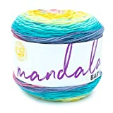 Lion Brand Yarn Company 526-207 Mandala Baby Yarn, Honeydukes, una madeja