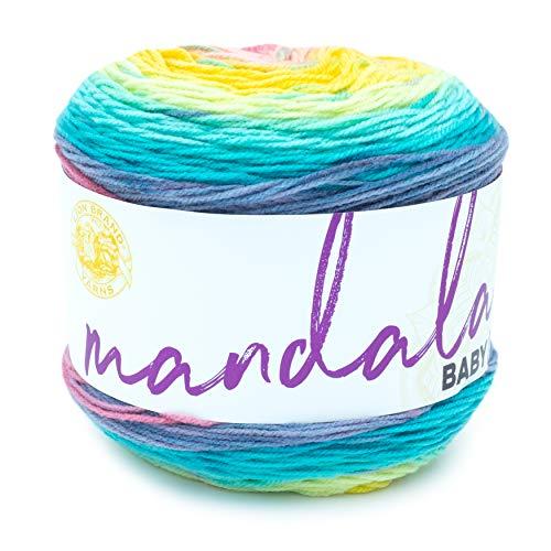 Lion Brand Yarn 526-207 Mandala Baby Yarn, Honeydukes