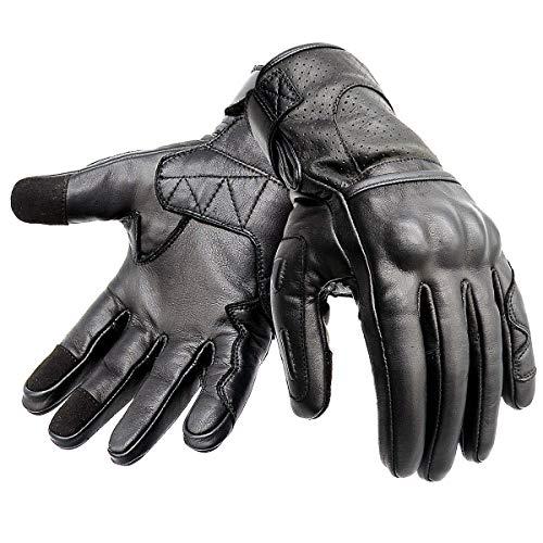 guanti in pelle moto Hand Fellow - Guanti da moto in pelle di alta qualità