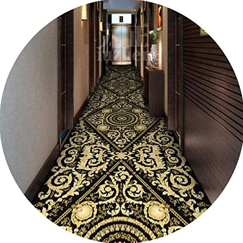 Alfombra Salon Alfombras Pasillo Rayas Multicolor Antideslizante Respaldados Alfombra Elegante for Lavadero Puerta Cocina Lavabo Zona,100cm * 700cm