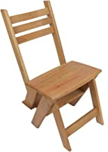 A chair of beech wood also can be used ladder 3 degrees fit in the use of rooms and kitchen