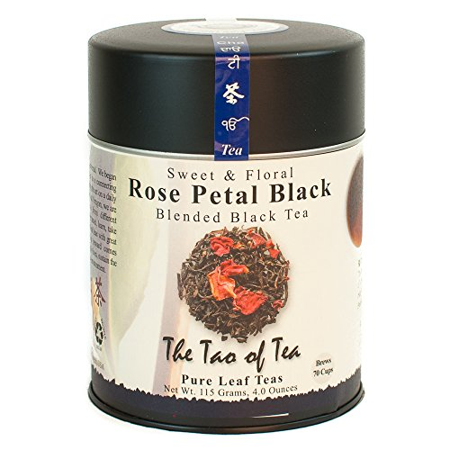 The Tao of Tea, Rose Petal Black Tea, Loose Leaf, 4-Ounce Tin (B001EPPE1K)