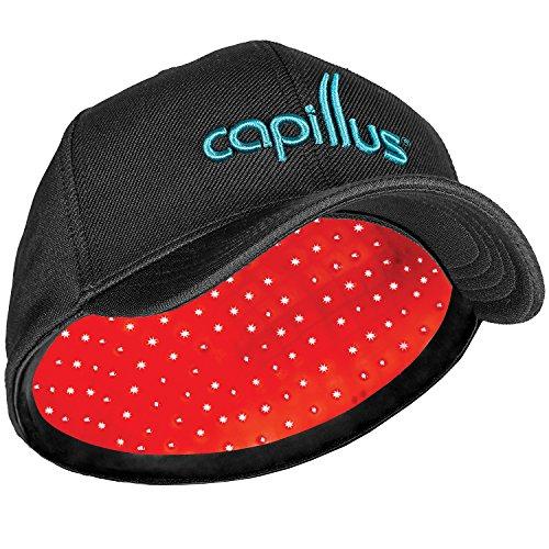 CapillusPro Terapia láser para el crecimiento del pelo – NUEVO Modelo 6 Minutos y Ajuste Flexible. Autorizado por la FDA para Tratamiento Médico de la Alopecia Androgenética – Gran Covertura