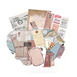 Travel Ticket Collection Washi Paper Sticker Crafts Supply Pack |...