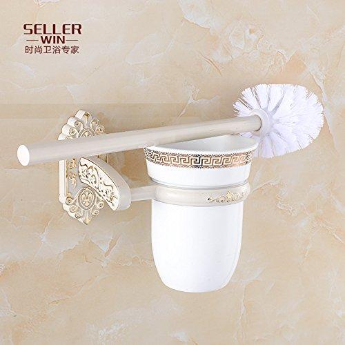 Toallero plegable de color blanco de oro Plus