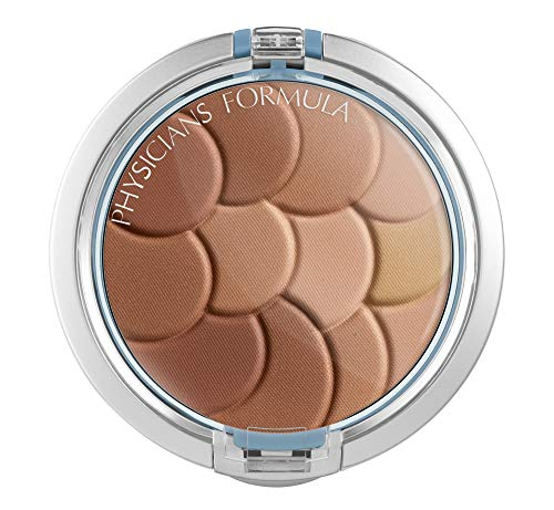 Physicians Formula Magic Mosaic Multi-Colored Custom Face Powder, Light Bronzer, 0.3-Ounces