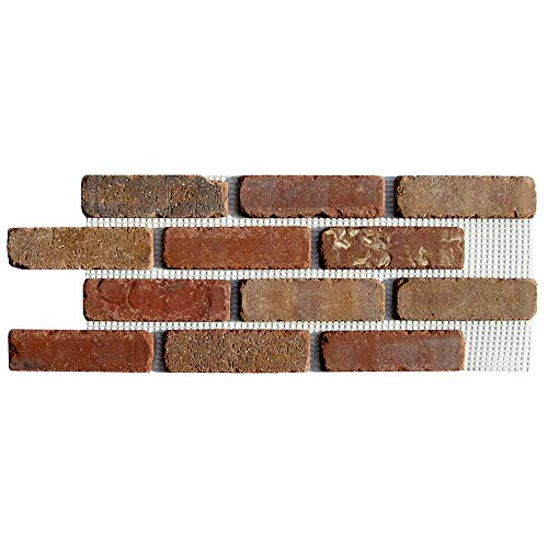 Brickwebb Thin Brick Sheets - Flats (Box of 5 Sheets) - Columbia Street