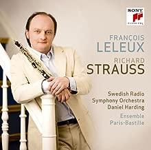 Francois Leleux - R. Strauss: Oboe Concerto, Serenade, Suite [Japan CD] SICC-1410