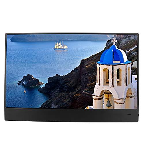 Tangxi Ultradun HDMI-scherm, 15,6-inch 1920 * 1080P hoge resolutie, draagbaar touchscreen HDMI-scherm voor PS4 voor schakelaar voor XBOXONE voor Raspberry Pi, Aanraakgevoelig scherm.
