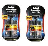 Supermax Smx3 Razor Set ( 2 Razors, 20 Catridges)