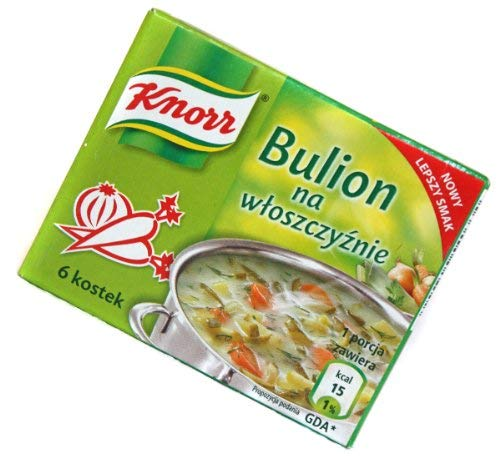 Knorr Vegetable store Bouillon Cubes 3-pack 3x2.2oz 3x60g Limited time sale