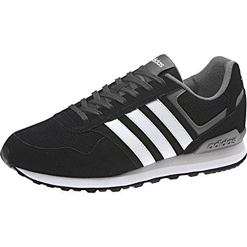 Adidas 10K, Zapatillas de Gimnasia Hombre, Negro (Core Black/FTWR White/Grey Five F17), 42 EU ✅