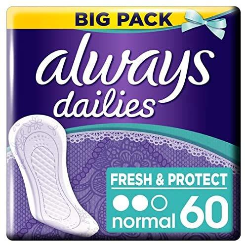 Always - Inlegkruisjes Fresh & Protect Normal - 120 Stuks