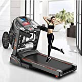 EF Sports 2 Folding Commercial Treadmill Portable Manual...