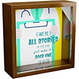 Doctor Gifts | 6x6x2 Wooden Shadow Box Ideal for Doctors | Gift for Medical Student or Mentor | Retirement or Graduation Keepsake for Men or Women | Students and Professionals Wall Decorations
