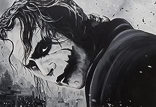 Buyartforless The Joker by Ed Capeau 18x12 Giclee Edition Art Print Poster Wall Decor Classic Pop Art Style Batman Gotham Villain