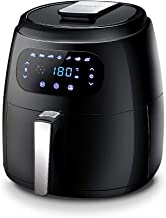 Devanti Air Fryer 8.5L 1800W LCD Touch Display Healthy Oil Free Deep Frying Cooker with Accessories Rack