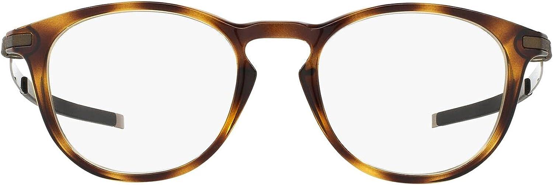 Oakley Men's Factory outlet Ox8105 Max 83% OFF Pitchman R Eyeglass Frame Round Prescription
