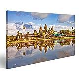 islandburner Bild Bilder auf Leinwand Angkor Wat Tempel,