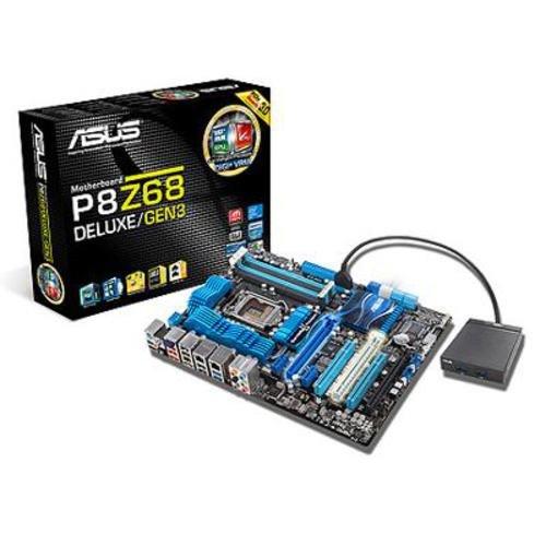 Asus P8Z68 Deluxe/Gen3 Mainboard Sockel LGA1155 Z68 ATX DDR3 Speicher