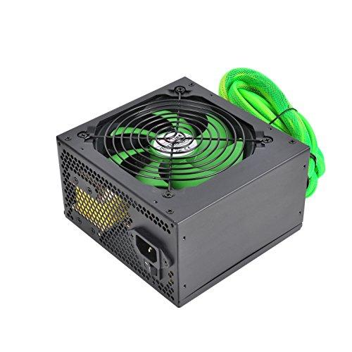 L-Link | Fuente de alimentación LL-PS-650 24 Pins | Fuente PC Silenciosa | 650 vatios | Alto Rendimiento