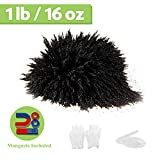 DAILYLIFE Magnet Iron Powder Filings 1 Pound Including 4 Magnets for Magnetic Field and Science Projects