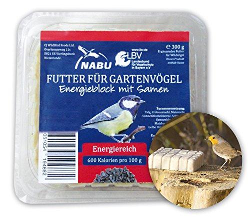 CJ Wildlife 103560715 Energieblock mit Samen 300 g für Wildvögel