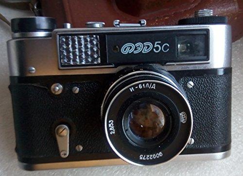 FED-5C USSR Soviet Union Russian 35 mm Rangefinder film camera Industar-61 L/D Lens
