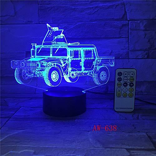 Farbwechsel Auto Lichter Hauptbeleuchtung Tischlampe Schlafzimmer Schlaf Dekoration Auto Nachtlicht Geschenk