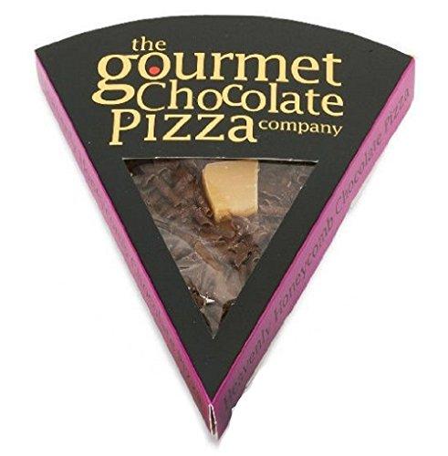 Gourmet Schokolade Pizza. Belgische Schokolade Pizza Slice - (Heavenly Honeycomb)