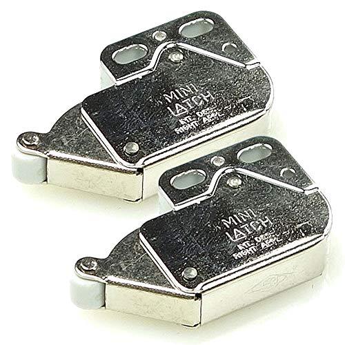 2er-Pack FRANKE Sorter 95 Schnäpper Metal (133.0045.565) - Einraster, öffnen und schließen durch drücken (Metall)