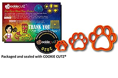 Dog Paw Cookie Cutter (All Sizes)