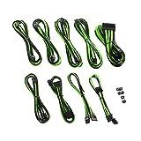 CableMod PRO ModMesh E-Series G3 / G2 / P2 / T2 Cable Kit - Black/Light Green