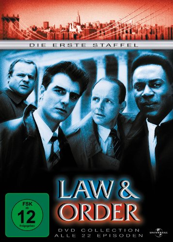 Law & Order - Staffel 1 (6 DVDs)