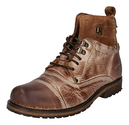 YELLOW CAB Shoes - Boots SOLDIER 15105 - Cognac