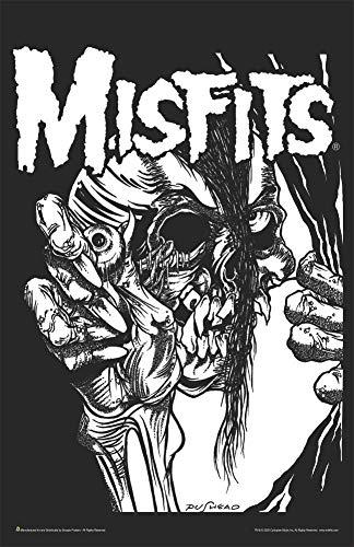 "Misfits - Pushead Music Mini Poster - Laminated 11.5"" x 17.5"""