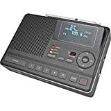 Sangean S.A.M.E. Weather Hazard Alert Radio w/AM/FM Clock, Public Alert Radio, NOAA, CL-100
