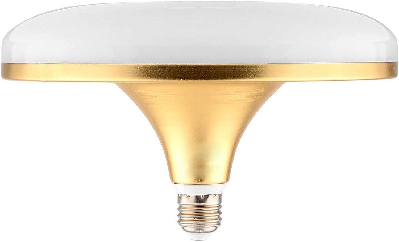 FuweiEncore Light E27 50W 100LED 5730SMD 4700-4950 LM Warm Wei Kaltwei UFO Lampe AC 220-240V (Farbe   Warmes Wei) (Farbe   Warmes Weiß)
