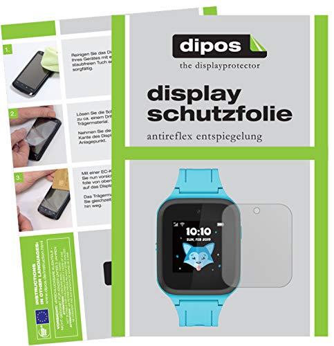 dipos I Schutzfolie matt kompatibel mit TCL Movetime Family Watch MT40S Displayschutz-Folie