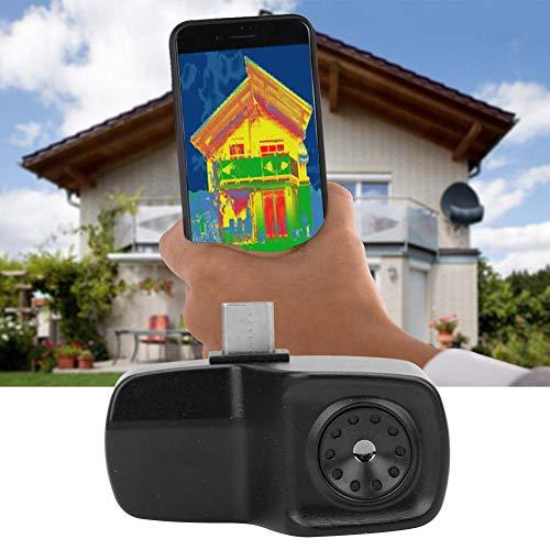 Wärmebildkamera, HT-201 Mini-Handy-Wärmebildkamera Wärmebildkamera -40 ° C bis 330 ° C/ 8-14μm, Support Media Library, Foto- und Videofunktionen