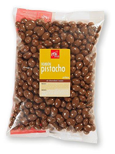 Bombón de pistacho con chocolate con leche 1 kg