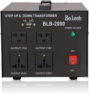 Auto Step Up & Step Down Voltage Transformer Converter - Step Up/Down 110/120&220/240 Volt (2000W)