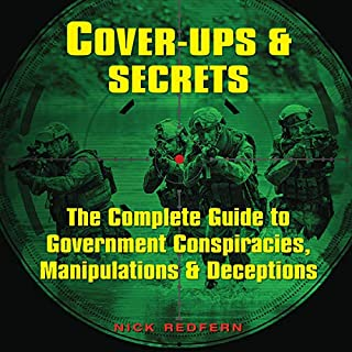 Cover-Ups & Secrets audiobook cover art