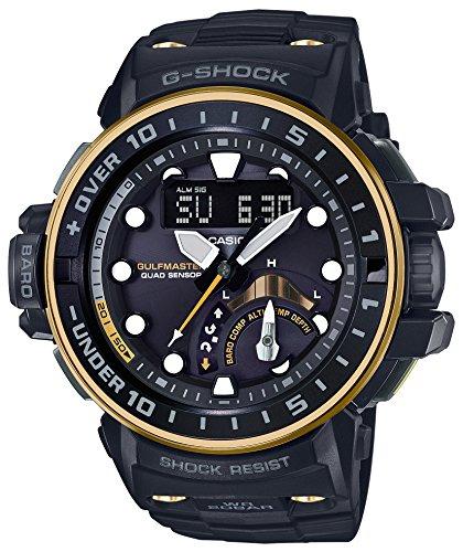 CASIO G-SHOCK GWN-Q1000GB-1AJF GULFMASTER MULTIBAND 6 - Reloj de pulsera