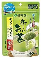 伊藤園 お~いお茶 さらさら抹茶入り緑茶 80g 6袋