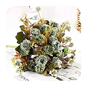 Silk Flower Arrangements SmarketL Artificial Flower Lilac Flowers Shore for Wedding Special Small Silk Flowers for Home Party Room Fake Flower Decor-Style 03