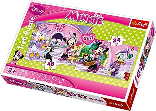 Trefl 34166 - puzzel 2-in-1, Disney Minnie, winkelen