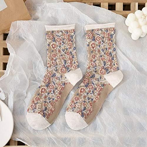 2 Pares de Calcetines para Hombres y Mujeres Calcetines de Felpa cálidos Gruesos de Invierno Calcetines de Tubo para Mujer Calcetines de Piso Calcetines de Toalla-a52